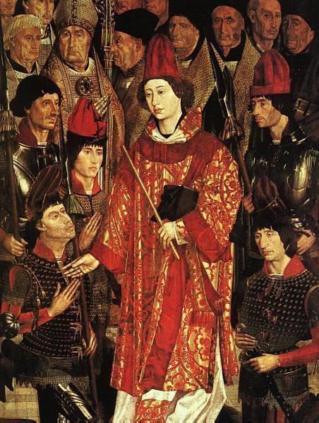 Altarpiece Of Saint Vincent Detail